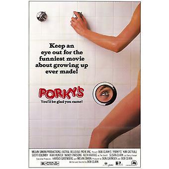 Porkys film plakatutskrift (27 x 40)
