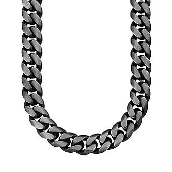 s.Oliver jewel men's leather chain stainless steel curb chain 2012570
