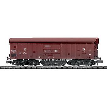 MiniTrix T15500 N gauge rail cleaner wagon Taes 890 of the German DB