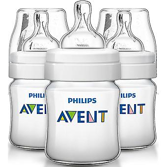Avent Classic+ Feeding Bottle 125ml - 3 pack