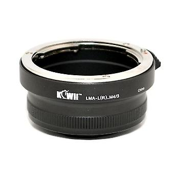 Kiwifotos Lens Mount Adapter: Allows 99% of Leica R Bayonet Mount Lenses to be used on any Micro Four Thirds System Body