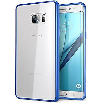 i-Blason-Galaxy-Note 7 caso Halo caso-claro/azul marino
