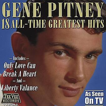 Genet Pitney - 18 alle tid Greatest Hits CD] USA import