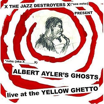 X___X - Albert Ayler spøgelser Live på gule Ghetto [Vinyl] USA importen