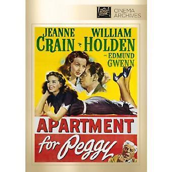 Appartement voor Peggy [DVD] USA importeren