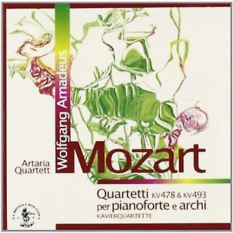 W.a. Mozart - Mozart: Quartetti Per Pianoforte E Archi, Kv 478 & Kv 493 [CD] USA import