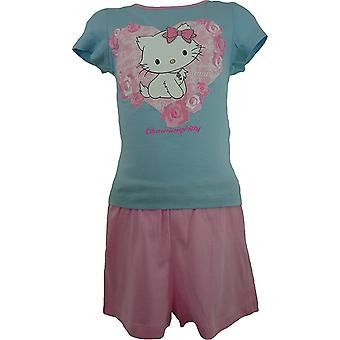 Mädchen Charmmy Kitty Hello Kitty Kurzarm-Pyjama