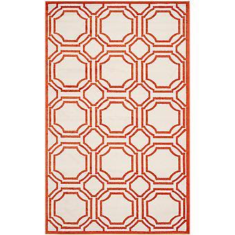 Marokkanske fliser elfenben & Orange tæpper - Safavieh