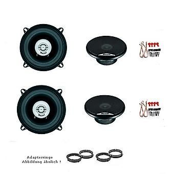 Mitsubishi colt, speaker boxes, door front and rear