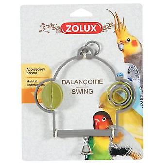 Zolux Plastic Swing With Toys (Birds , Bird Cage Accessories , Toys , Swings)