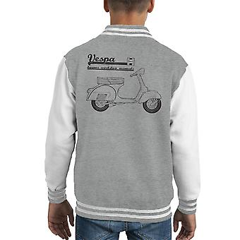 Haynes Owners Workshop Manual Vespa Kid's Varsity Jacket