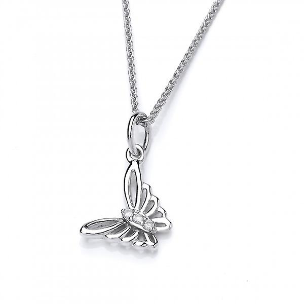 Cavendish French Flutterby Butterfly Pendant without Chain