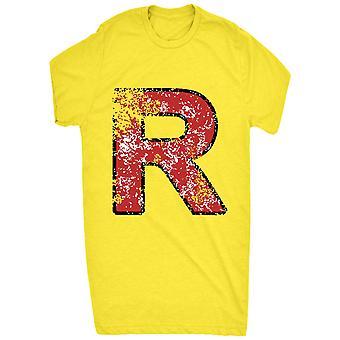 Gerenommeerde R symbool kwaad