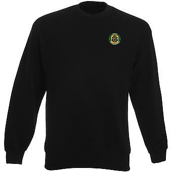 US Army LRRP Long Range Recon Vietnam ricamato Logo - Heavyweight Sweatshirt