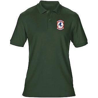 USMC HMM-161 il primo - guerra del Vietnam ricamato Logo - Mens Polo Shirt