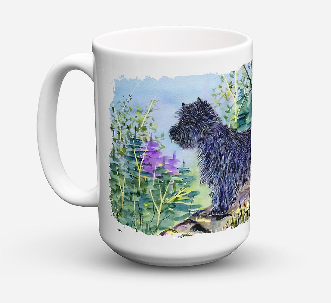 Micro Céramique Oz Cairn Sûre ondes vaisselle Lave Tasse 15 Pour Terrier Café Tlc51JuK3F