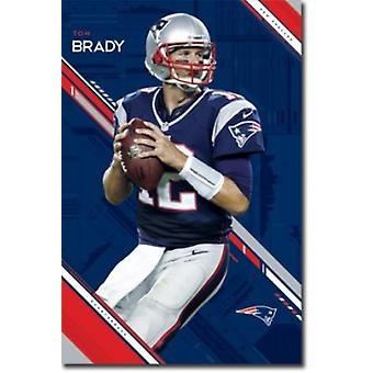 New England Patriots Tom Brady Poster Poster Print