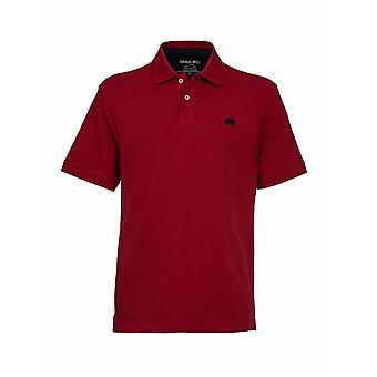 Signatur Polo Shirt - röd