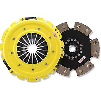 ACT ZX2-XTR6 XT Pressure Plate with Race Rigid 6-Pad Clutch Disc