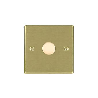 Hamilton Litestat Hartland Satin Brass 1g 200VA 2 Way Dimmer SB