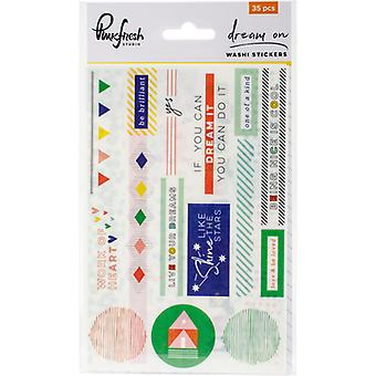 Dream On Washi Stickers 4