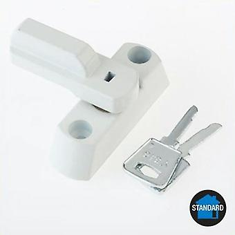 Yale Yale Key Locking Sash Jammer Window Stop - White
