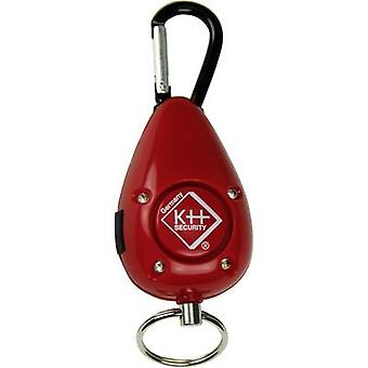 Pocket alarm Red incl. LED kh-security 100189