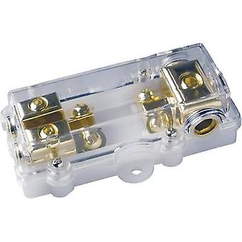 Car audio mini ANL fuse holder Sinuslive M-ANL-1/2 Suitable for: 80 A