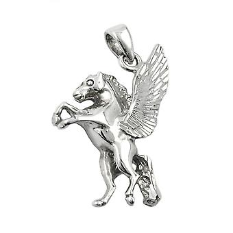 Pendant horse with wings silver 925