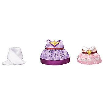 Sylvanian famille Dress up jeu - Purple & Pink