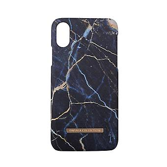 GEAR Mobilskal Onsala Collection Black Galaxy Marble iPhoneX