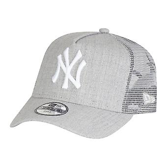 New era Trucker Cap - HEATHER children NY Yankees grey