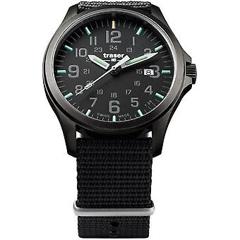 Traser H3 watch P67 officer pro GunMetal 107422