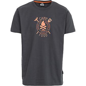 Męskie Trespass Adder Krótki rękaw drukowane koszulki sportowe