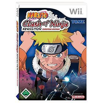 Naruto Clash Of Ninja Revolution (Wii)