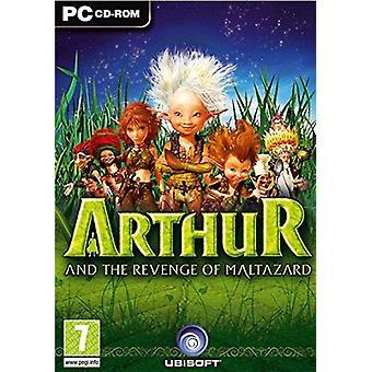 Arthur og hævn af Maltazard (PC DVD)-fabriks forseglet