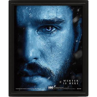 Game Of Thrones Framed 3D Picture