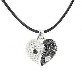 Heartbreaker by Drachenfels Ladies silver pendant necklace LD HT 42