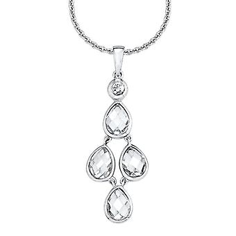 s.Oliver jewel ladies chain necklace silver Zyrkonia SO1126/1 - 507509