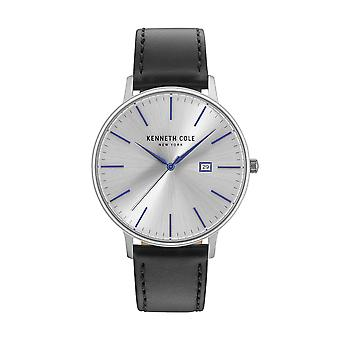 Kenneth Cole New York men's watch wristwatch leather KC15059006
