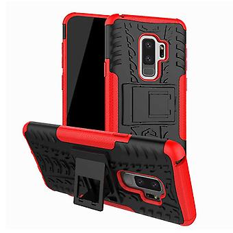 Hybrid case 2 piece SWL outdoor red for Samsung Galaxy S9 plus G965F bag cover