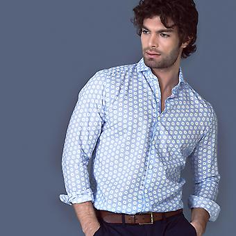 Fabio Giovanni Montatino Shirt - Mens High Quality Light Cotton Muslin Shirt