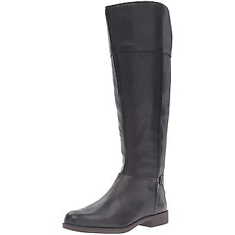 Franco Sarto Womens Christn WC Leather Round Toe Knee High Fashion Boots