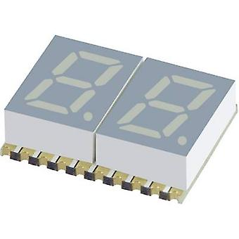 Seven-segment display Red 7.62 mm 1.85 V No. of digits: 2