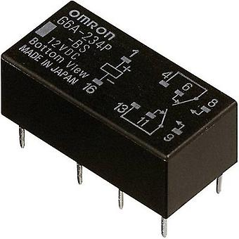 Omron G6A-274P-ST-US 12 VDC PCB relay 12 Vdc 2 A 2 change-overs 1 pc(s)