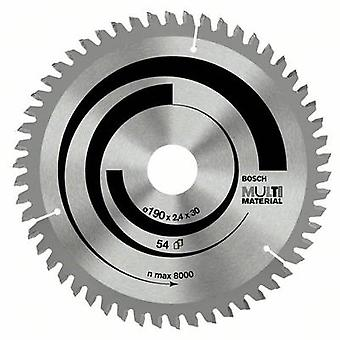 Carbide metal circular saw blade 160 x 20 x 2.4 mm Number of cogs: 42 Bosch Accessories Multi Material 2608640503 1 pc(s)