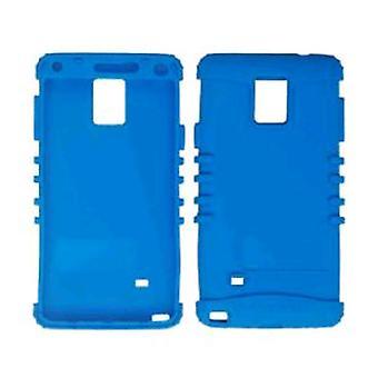 Onbeperkt cellulaire Rocker serie huid voor de Samsung Galaxy Note 4 - donkere blauwachtig G