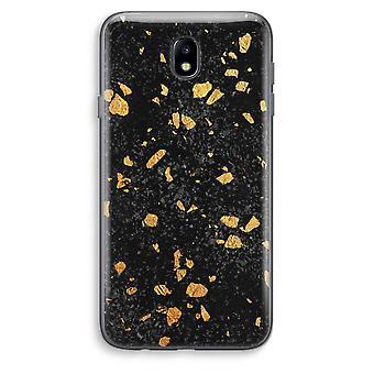 Samsung Galaxy J7 (2017) Transparent Case (Soft) - Terrazzo N°7