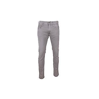 Reproducción universal de Anbass M914D8005222110 de los pantalones vaqueros lavados todos pantalones de hombres año