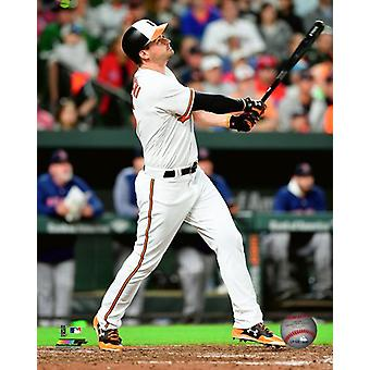 Trey Mancini 2018 Action Photo Print